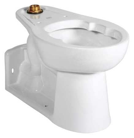 American Standard Bedpan Holding Toilet Bowl Elongated 1