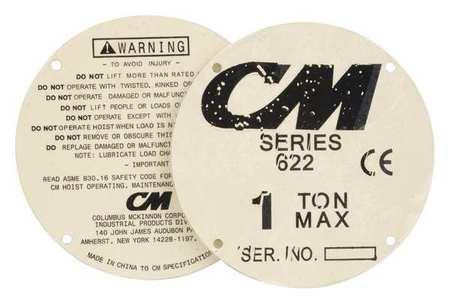 CM Label Set Type 22604
