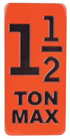 CM Capacity Inlay 1 1/2 Ton