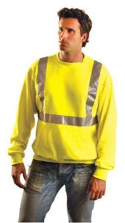 Sweatshirt,mens,5xl,yellow