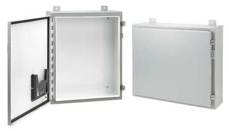 Enclosr Metallc 42In.H x36In.W x 16In.D by USA Hoffman Electrical Enclosures