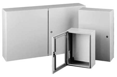 Enclosure Metallc 16In.Hx16In.Wx10In.D by USA Hoffman Electrical Enclosures