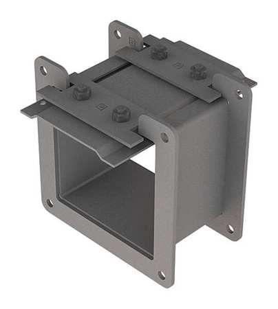 Nipple Wireway Steel 4in. H x 4in. L Model F44LN3 by USA Hoffman Wireways & Cable Trays