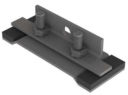 Sealing Plate Wireway Steel 4in.Hx4in.L by USA Hoffman Wireways & Cable Trays