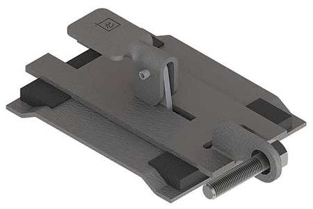 Sealing Plate Wireway Steel 4in.Hx4in.L Model F44LSGQR by USA Hoffman Wireways & Cable Trays
