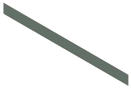 Barrier Wireway Steel 6in. H x 6in. L by USA Hoffman Wireways & Cable Trays