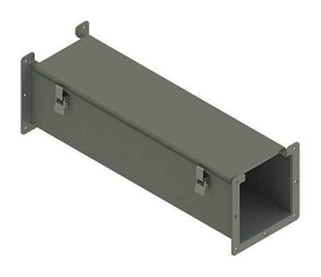 Lay In Wireway 2 ft. 6inWx6inH Steel by USA Hoffman Wireways & Cable Trays