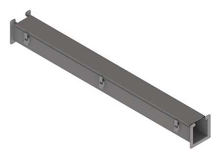 Lay In Wireway 4 ft. 2.50inWx2.50inH by USA Hoffman Wireways & Cable Trays