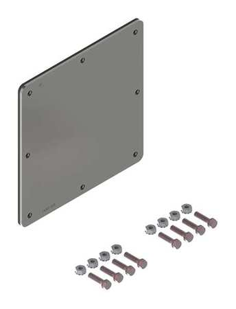 Closure Plate Wireway Steel 6in.Hx6in.L Model F66WPSS by USA Hoffman Wireways & Cable Trays