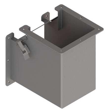 Elbow 90 deg. Ind Steel 6in. H x 6in. L Model F66LE9B by USA Hoffman Wireways & Cable Trays