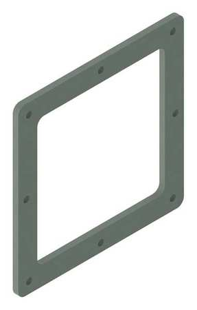 Closure Plate Wireway Steel 8in.Hx8in.L by USA Hoffman Wireways & Cable Trays