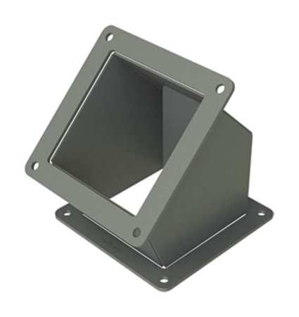 Elbow 45 deg. Ind Steel 4in. H x 4in. L Model F44WE45 by USA Hoffman Wireways & Cable Trays