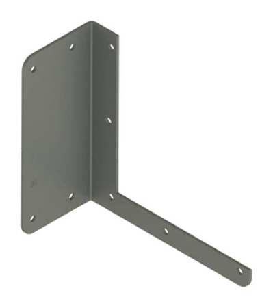 Bracket Hanger Wireway Steel 6inHx6inL by USA Hoffman Wireways & Cable Trays