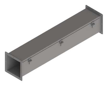 Feed Through Wireway 3 ft. 6inWx6inH by USA Hoffman Wireways & Cable Trays