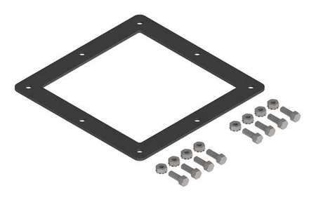 Gasket and Screws Wireway 6in.Hx6in.L by USA Hoffman Wireways & Cable Trays