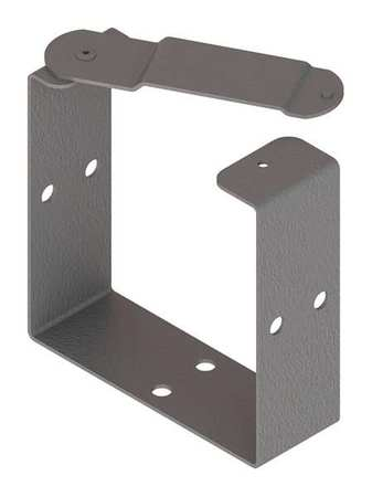 U Connector Comm Steel 4in. H x 4in. L by USA Hoffman Wireways & Cable Trays