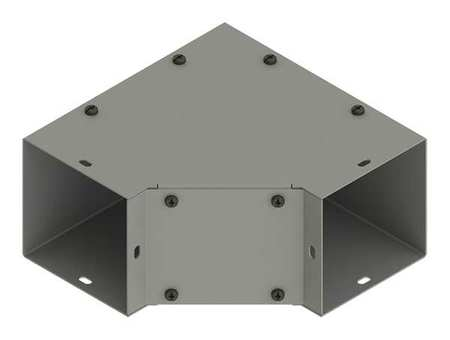 Elbow 90deg. Comm Steel 4in.Hx4in.L by USA Hoffman Wireways & Cable Trays