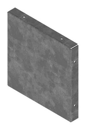 Closure Plate Wireway 10in.Hx10in.L by USA Hoffman Wireways & Cable Trays