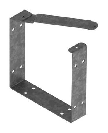 U Connector Comm Steel 12in. H x 12in. L by USA Hoffman Wireways & Cable Trays