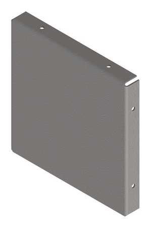 Closure Plate Steel 10in. H x 10in. L by USA Hoffman Wireways & Cable Trays