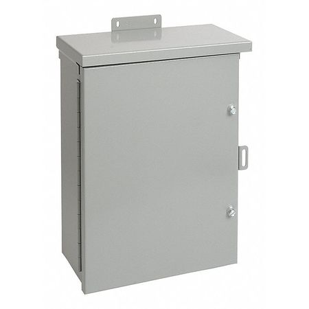 Jun Box Enclsr Mtlc 36In.Hx24In.Wx12In.D by USA Hoffman Electrical Enclosures