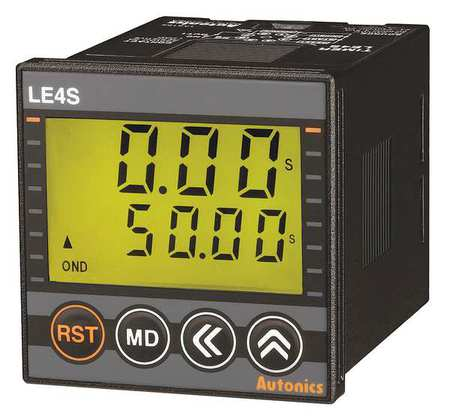 Time Dlay Rlay 24 to 240VAC/24 to 240VDC Model LE4S by USA Autonics Electrical Time Delay Relays