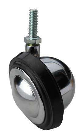 Value Brand Swivel Stem Caster Rubber 3 in. 100 lb. Type BCRN03541S005G