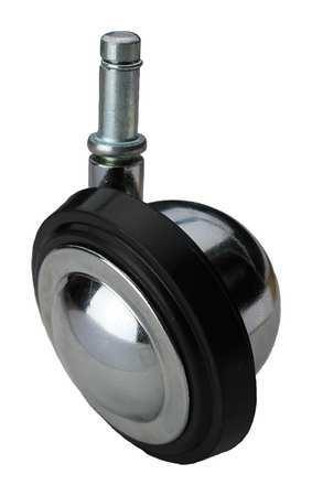 Value Brand Swivel Stem Caster Rubber 3 in. 100 lb. Type BCRN03541S003G