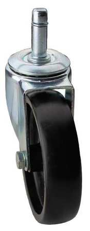 Value Brand Swivel Stem Caster Polyolfn 3 in 125 lb