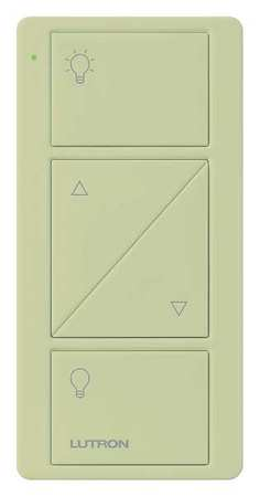 Wireless Remote Control 2 Buttons Ivory by USA Lutron Electrical Lighting Dimmers