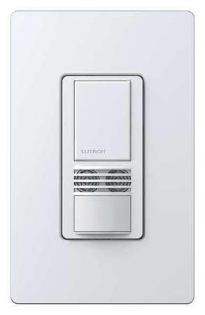Occupancy Sensor PIR/Ult 900sq ft White by USA Lutron Infrared Motion Sensors