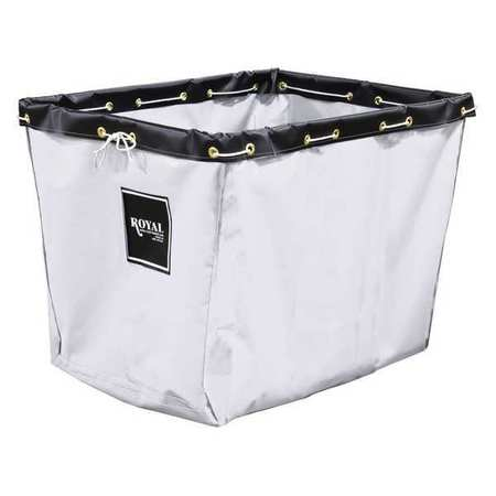Royal Basket Replacement Liner 60 In. White Vinyl
