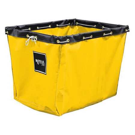 Royal Basket Repl Liner 8 Bu Yellow Vinyl