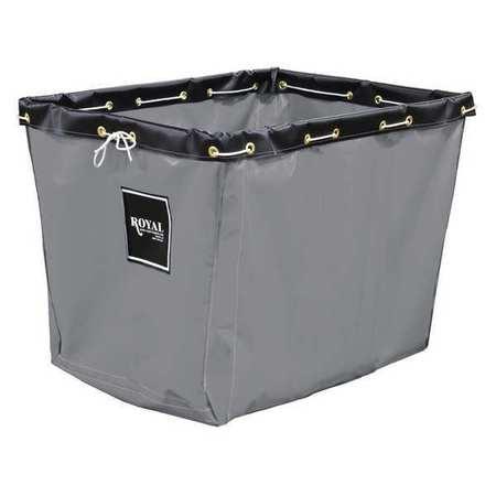 Royal Basket Replacement Liner 10 Bushel Gray Vinyl