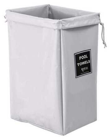 Royal Basket Pool Hamper Bag White