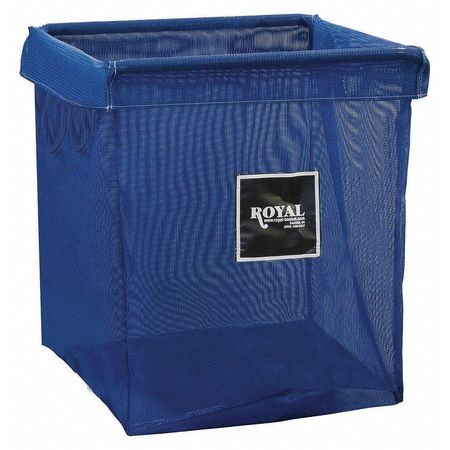 Royal Basket X-Frame Bag 8 Bushel Blue Mesh