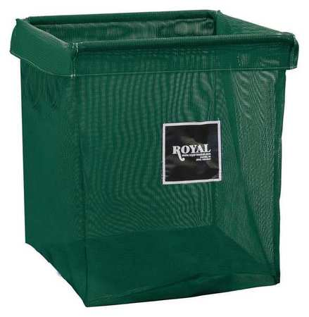 Royal Basket X-Frame Bag 8 Bushel Green Mesh