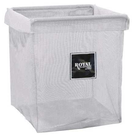 Royal Basket X-Frame Bag 6 Bushel White Mesh