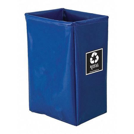 Royal Basket Enviro Cart Bag 18 Bushel 3 Comp Blue