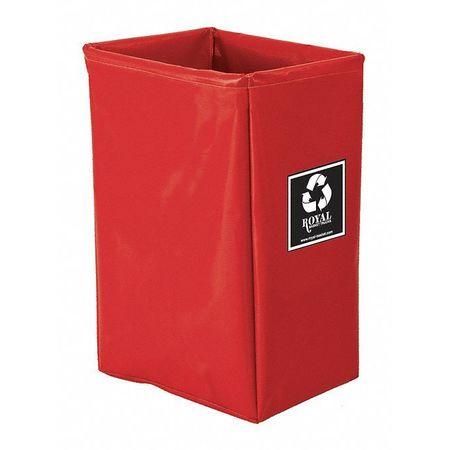 Royal Basket Enviro Cart Bag 12 Bushel 3 Comp Red