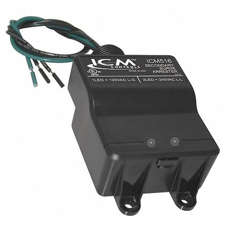 Surge Protection Device 1 Phase 120/240V Model ICM516 by USA ICM Electrical Surge Protection Devices