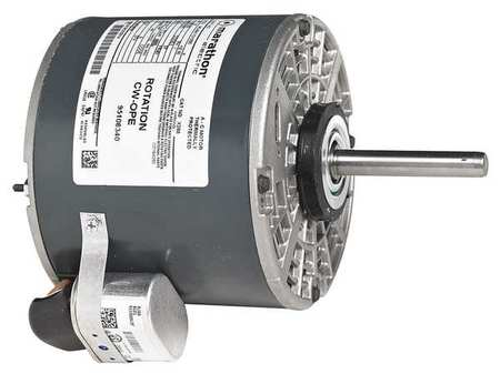 DDB Motor PSC OAO 1/3 HP 1075 rpm 48Y by USA Marathon Direct Drive Permanent Split Capacitor Blower Motors