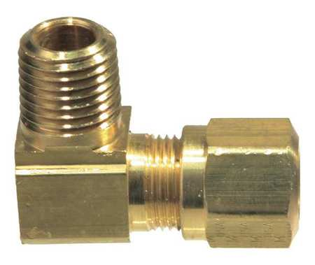 EATON WEATHERHEAD Brass Male Connector,1//8-27,5//32 In Tube Sz 1868X2.5