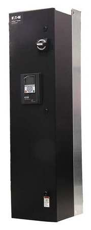 Enclosed Drive W/Bypass 50 HP 14.5 in. W by USA Eaton NEMA Rated Enclosure Motor Drives