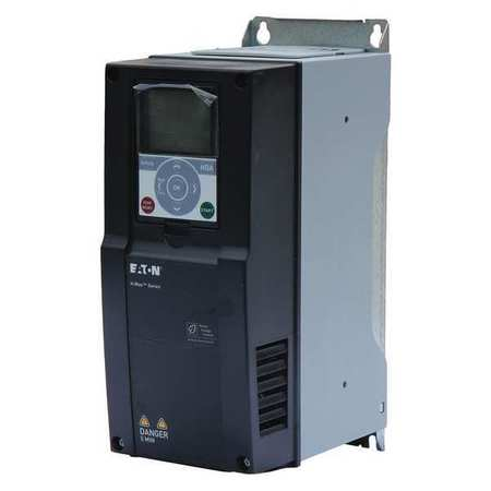 Variable Frequency Drive 3 HP 12.89 in H by USA Eaton NEMA Rated Enclosure Motor Drives