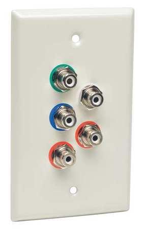 Port Extender/Splitter Wall Plate UTP by USA Tripp Lite Audio Video Splitters Connectors & Adapters