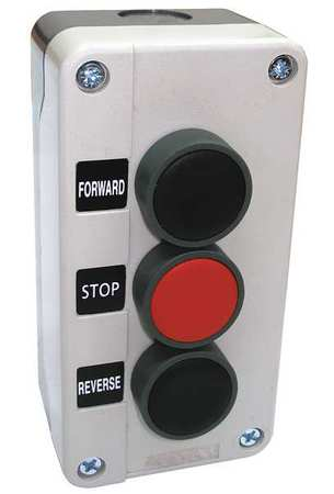 Push Button Control Station 2NO/1NC 22mm Model 32W272 by USA Dayton Electrical Push Button Control Stations