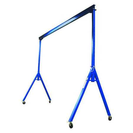 Vestil Steel Gantry Crane - Adjustable Height Type AHS-4-20-16