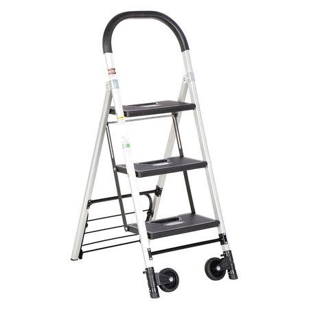 Vestil Aluminum Ladder Cart - 3 Steps