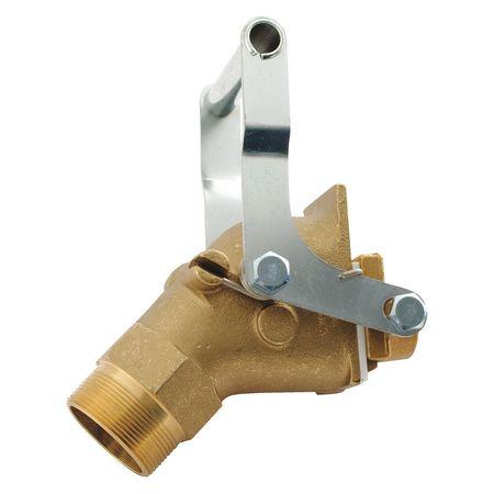 Vestil Manual Drum Faucet - Jumbo Brass
